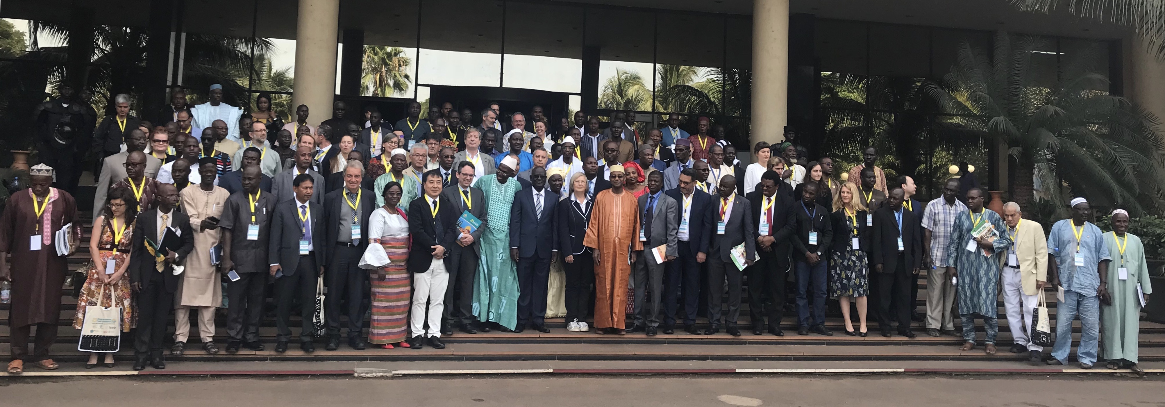 WCPC2018 participants including the Malian Minister of Energy and Water